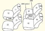 5人乗り用(年式により商品異なります) セット内容イメージ図