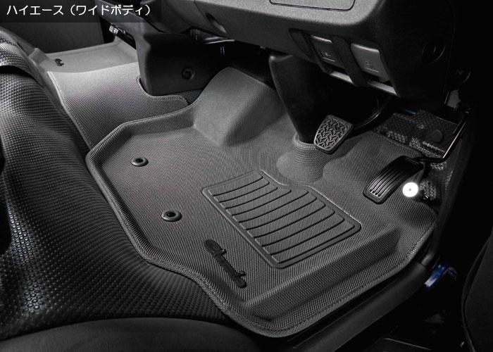Clazzio 車種別専用立体マット ラバータイプ グレー装着画像