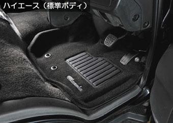 Clazzio 車種別専用立体マット カーペットタイプ ブラック装着画像